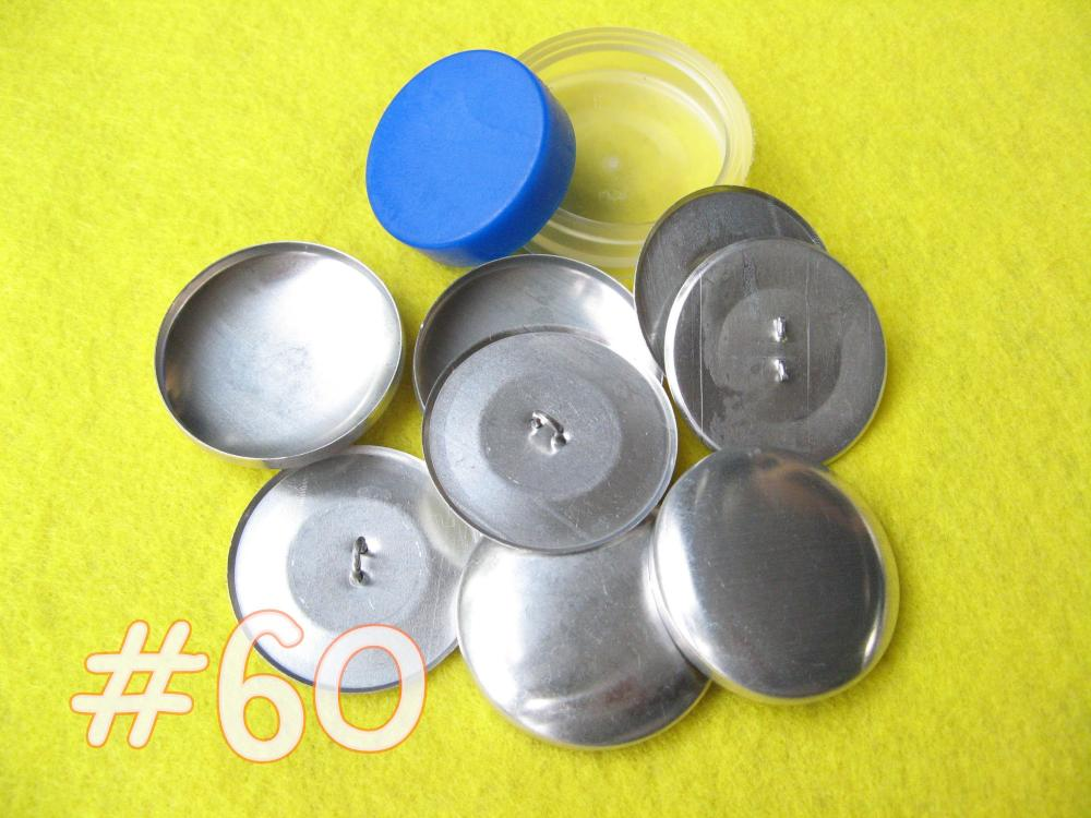 Covered Button Kit - 1 1/2 inch - Size 60